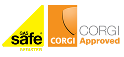 We are Gas Safe & Corgi Registered.